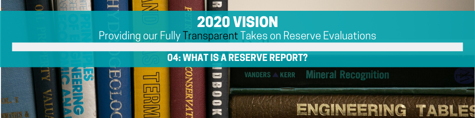 2020 VISION RESERVE REPORT 101