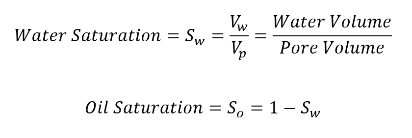 Water Saturation Formula Haas Engineering Petroleum Engineering Dallas Texas